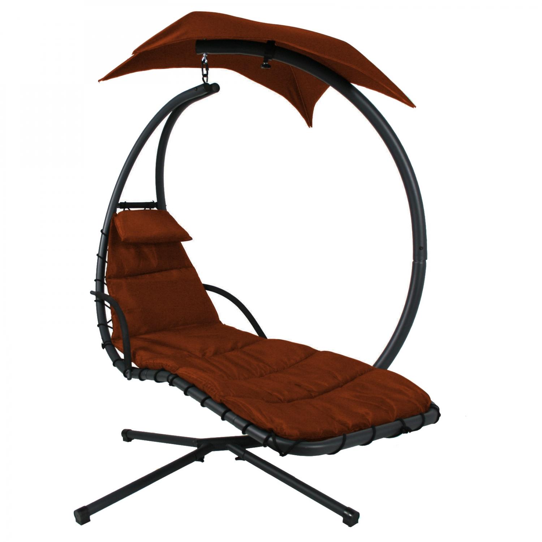 0811-1056 Orange Dream Chair Hanging Chaise Lounge | eBay