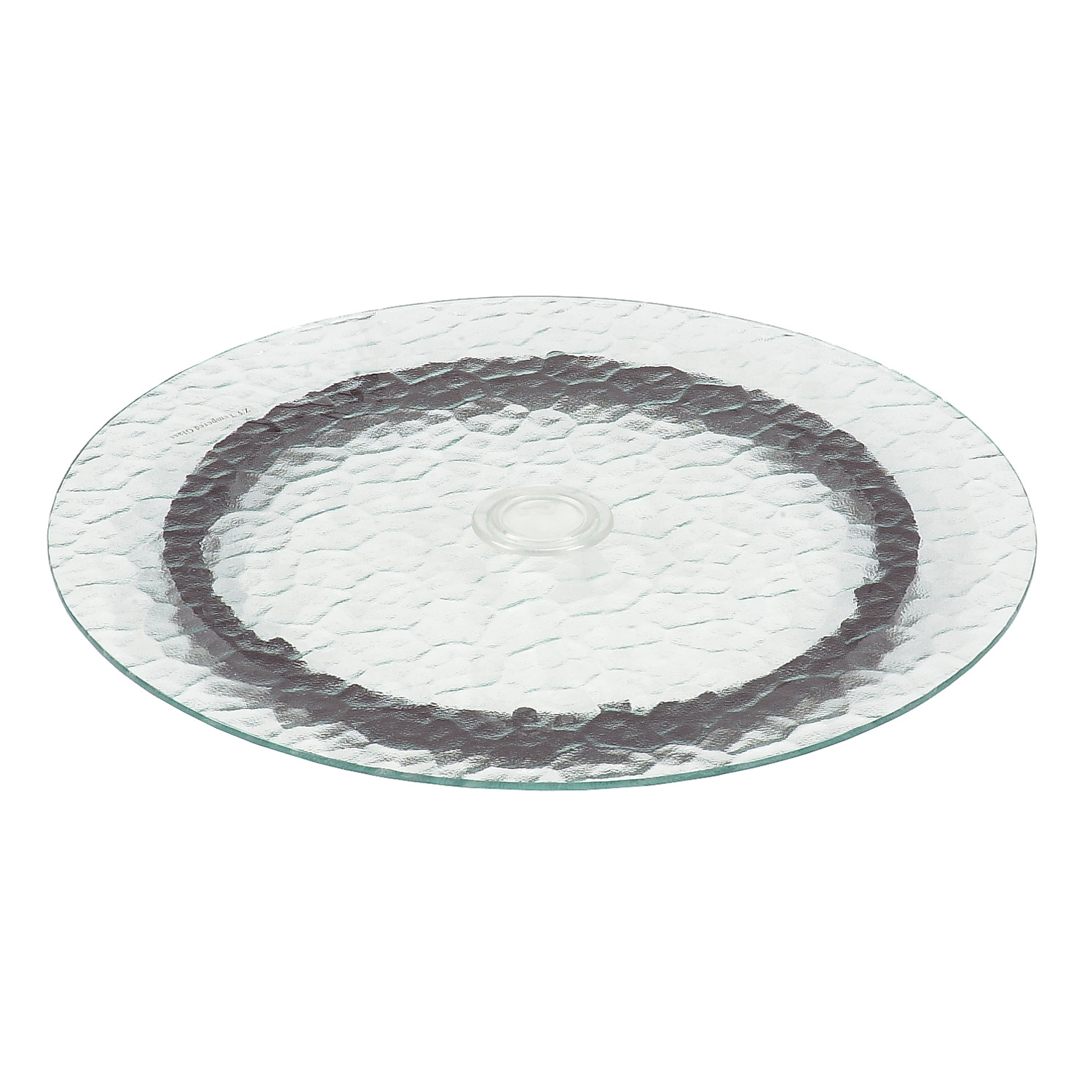 Astonica 50140292 Rotating Lazy Susan With Water Glass