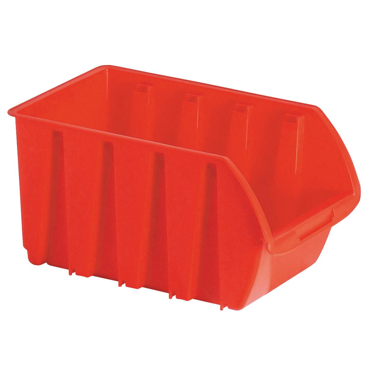 Tahoe 60500073 10pk 10 Each Medium Stackable Plastic Red