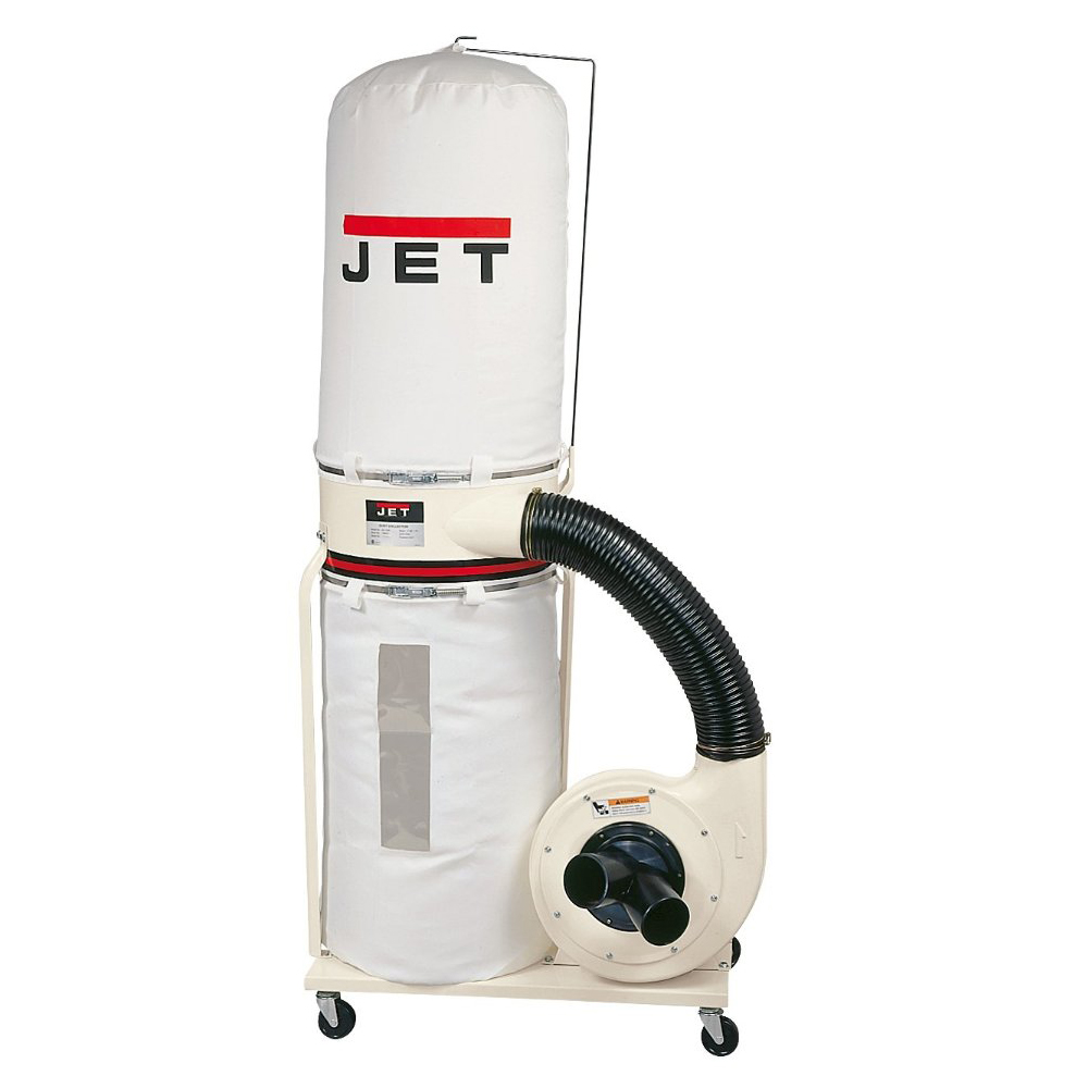 Jet 710700bk Dc 1200 Cfm Dust Collector 2hp Ebay