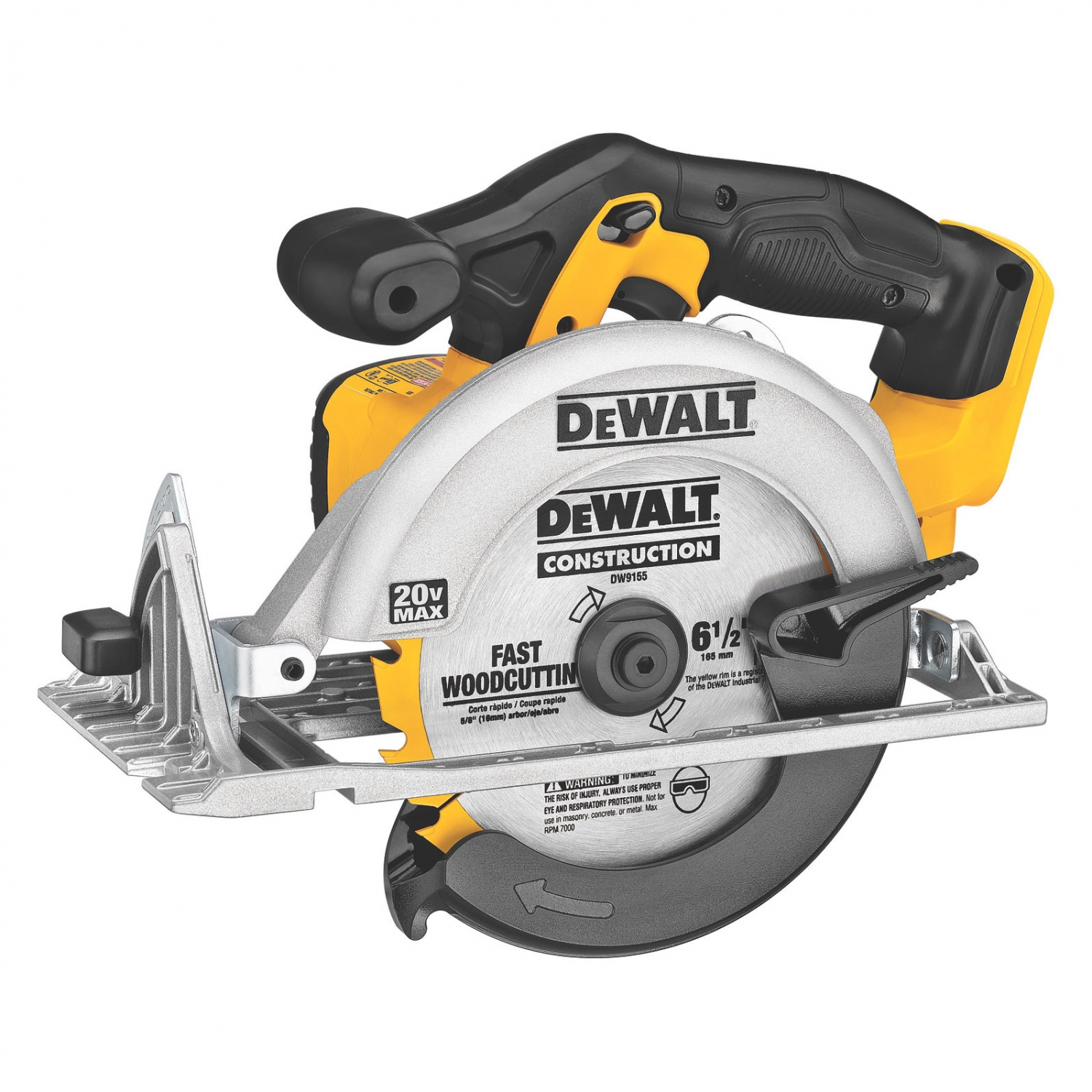 how to put blade on dewalt circular saw