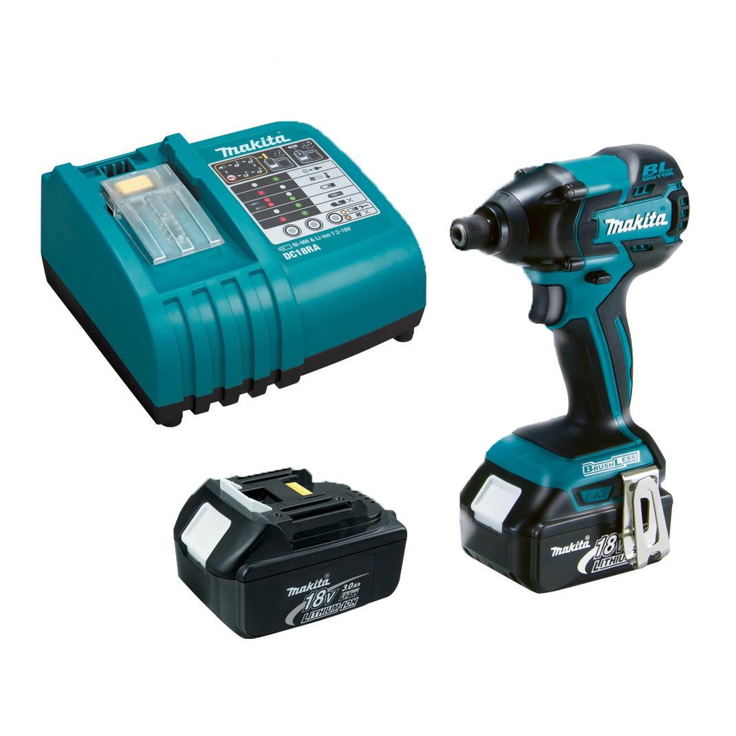 Makita Lxdt08 18v Lxt Lithium Ion Brushless Cordless Impact Driver Kit Ebay