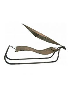 The Generic 08116147 Bronze Patio Hammock with Sun Shade