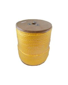 CWC 100110 1/2 Inch Hollow Braid Monofilament Polypropylene Rope 500'