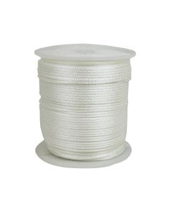 CWC 105065 1/4 Inch Solid Braid Nylon Cord Rope 1000' Long