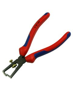 "Knipex 1102160 End-Type 0 6-1/4"" Insulation Wire Stripper Tool with Component Grips"