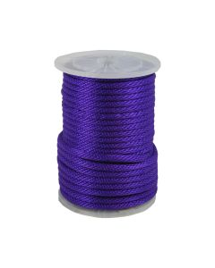CWC 115427 5/8in Solid Braid Multifilament Poly Purple Halter Rope 200ft