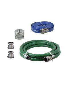Honda 124015-1145-CLKT 1.5-inch Camlock Suction and Discharge Hose Kit