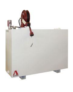 Alemite 1300U-50EP Single-Wall Rectangular Liquid Tank, 3644-C2 Meter, Reel