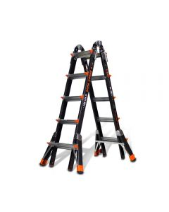 Little Giant 15145-859 Dark Horse M22 FiberGlass Ladder with Levelers and Docks