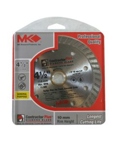 MK Diamond 166999 Contractor Plus Turbo Circular Saw Blade 4-1/2-inch (Default)Back  Reset  Delete  Duplicate  Save  Save and Continue Edit