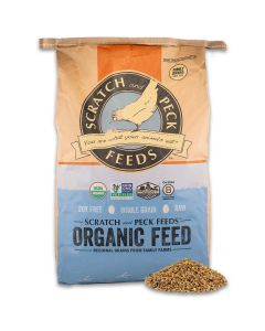 Scratch and Peck Feeds 2003-40 Naturally Free Organic Grower Feed - 40-lbs