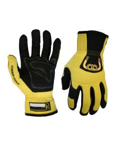 CLC Pit Crew 215YS Speed Wrench Glove, Yellow, Small