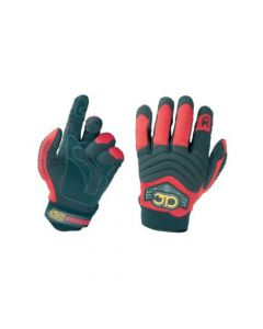 CLC Pit Crew 235XX Power Crew Work Glove, Red Double Extra Large