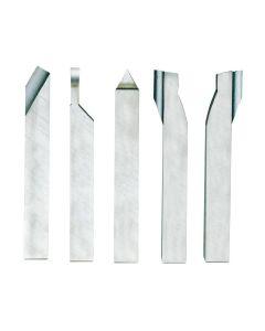 Proxxon 24530 5PC 8 x 8 x 80mm Carving Cutting Set