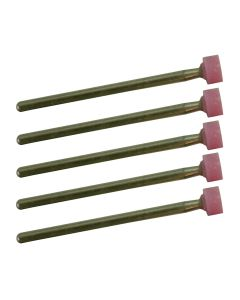Proxxon 28776 Aluminum-Oxide Mounted Points 5-Piece