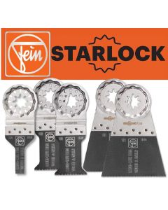 Fein 33918333000 E-CUT Long Life Starlock Fitting Blades - Set of 5