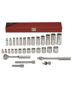 Standard and Deep Socket Set by Wright Tool