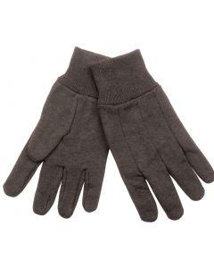 Klein 40002 Heavyweight Brown Large Jersey Gloves
