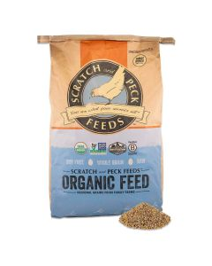 Scratch and Peck Feeds 4003-40 Naturally Free Org Pig Grower - 40 lbs