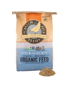 Scratch and Peck Feeds 79988 Organic Mini Pig Adult Feed - 18lbs