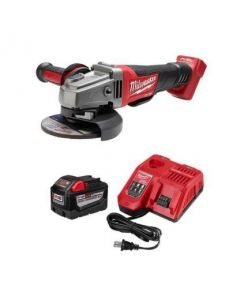Milwaukee 48-59-1890PG Red Lithium High Demand 9.0 System Starter Kit w. Grinder