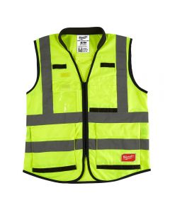Milwaukee 48-73-5041 ANSI High Visibility Yellow Safety Vests - S/M