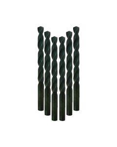 Milwaukee 48-89-2840 3/8-Inch Thunderbolt Black Oxide Drill Bit, 6-Pack