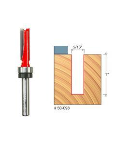 Freud 50-098 5/16-inch (Dia.) Top Bearing Flush Trim Bit with 1/4-inch Shank
