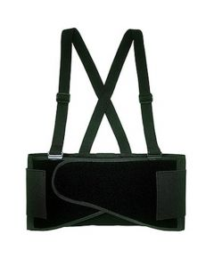 CLC Custom Leathercraft 5000L Economy Back Support w/ Suspenders - Large