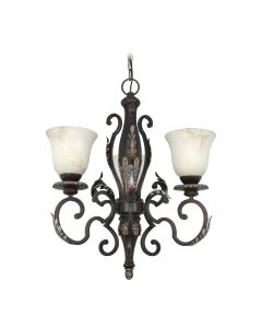 23-Inch Single Tier Chandelier by SATCO