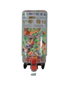 Moldex 6645 Sparkplugs Uncorded Foam Ear Plugs 500 Pairs in Dispenser