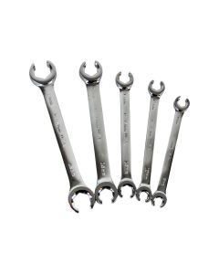 Wright Tool 744 Metric Standard Flare Nut Wrench Set, 5-Pieces