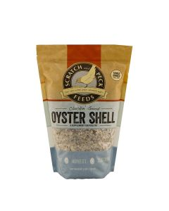 Scratch and Peck 9300-04 Oyster Shell for Chickens and Ducks - Crushed - 4lbs