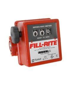 Tuthill/Fill-Rite 807C1 5-20 GPM Heavy Duty Mechanical Flow Fuel Gas Meter
