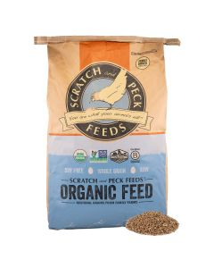 Scratch and Peck Feeds 8100-40 Organic Whole Wheat - 40 lbs