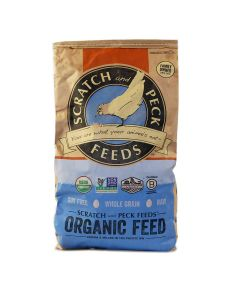 Scratch and Peck Feeds 1005-40 18% Organic Layer with Corn - 40 lbs