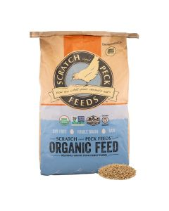 Scratch and Peck Feeds 8200-40 Organic Whole Oats - 40-lbs