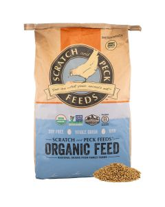 Scratch and Peck Feeds  8300-40 Cluckin' Good Organic Sprouting Barley - 40-lbs