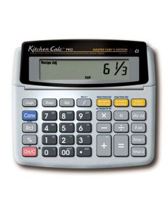 Calculated Industries KitchenCalc 8305 PRO Master Chef Edition Recipe Conversion Calculator