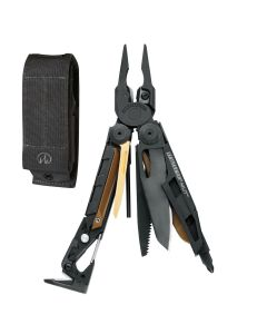 The Leatherman 850122 Blk Multi-Tool w/ Blk Molle Sheath