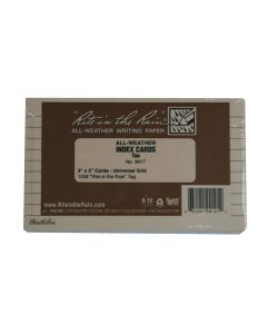 Rite in the Rain 991T All-Weather Tan Index Cards 3-Inch x 5-Inch 100-Pack