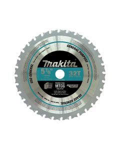 Makita A-96095 5-7/8-inch 32 Carbide-Tipped General Purpose Cutting Saw Blade