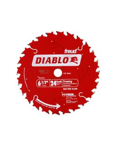 The Freud D0624A 6-1/2-inch 24T ATB Framing Saw Blade