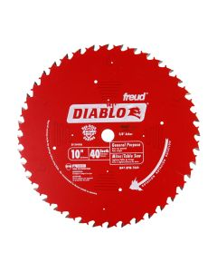 The Freud D1040A 10-inch 40T ATB Miter Saw Blade