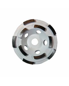 The Bosch DC410M 4in Diamond Cup Wheel with M10 Hub