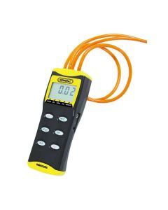 General Tools DM8252RS High Resolution Digital Manometer with 4 Rubber Stoppers