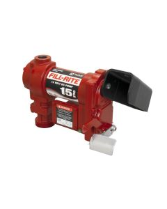 The Fill-Rite FR1204G 12V 15 GPM Fuel Transfer Pump