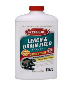 Roebic K-570 32 Fl. Oz Biodegradable Leach And Drain Field Opener Concentrate