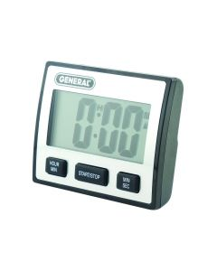 General Tools TI110 Waterproof Timer with Extra-Large LCD Display